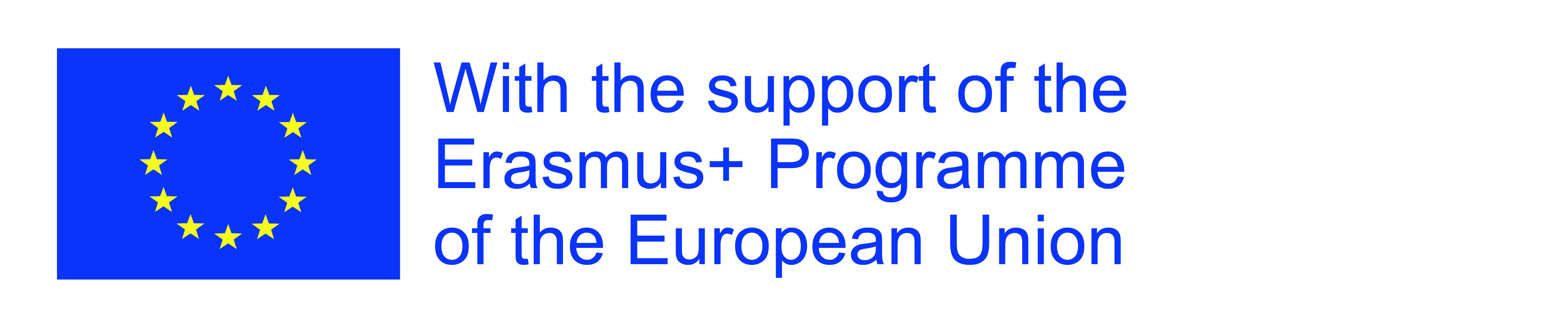 Erasmus+ Logo with text right